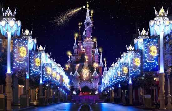 Disney Hollywood Studios Christmas Lights