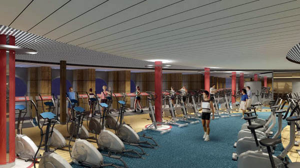 Oasis of the Seas-Fitness Center