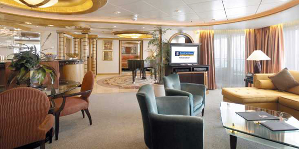 Voyager of the Seas - Grand suite