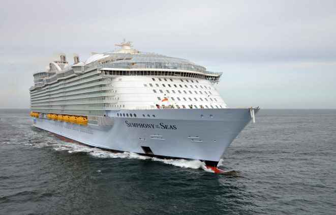 El Symphony of the Seas de Royal Caribbean se presenta en España