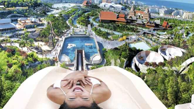 Tripadvisor I Siam Park Tenerife Elegido Mejor Parque Acuático Del Mundo