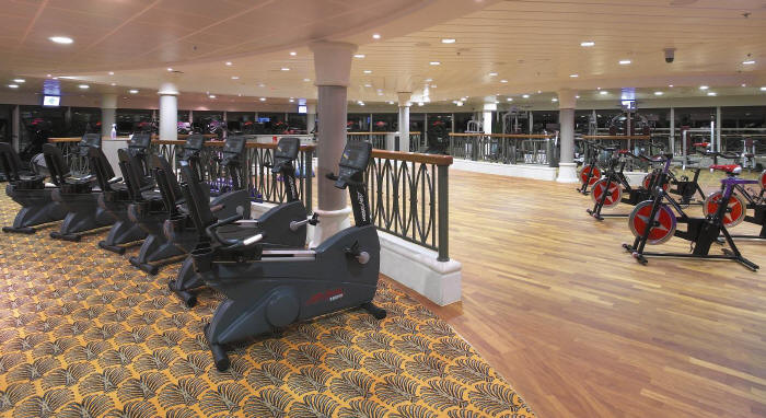 Voyager of the Seas - Zona de Fitness