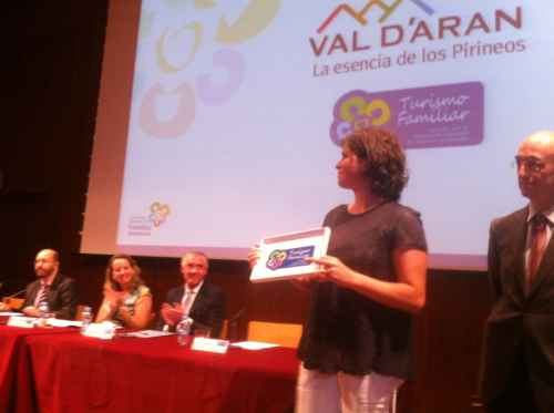La Val d'Aran recibe el Sello de Turismo Familiar